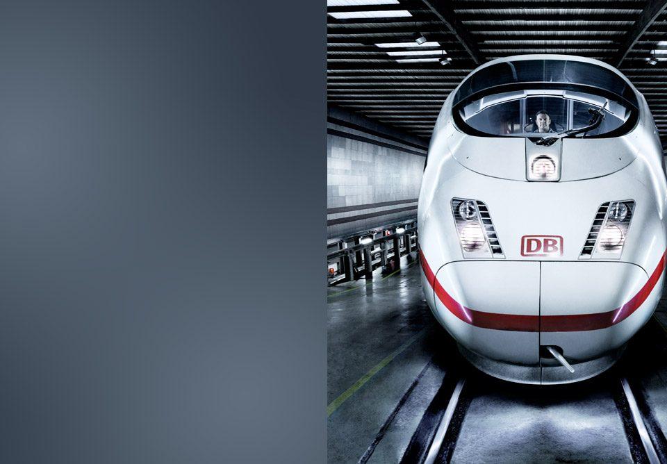 ICE 3 Zug im Werk Frankfurt